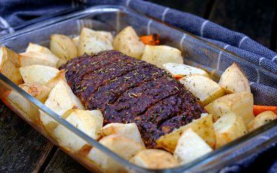 Beefy Vegan Roast